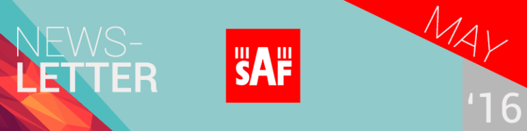 SAF Newsletter May 2016